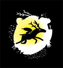 Le renne du soleil